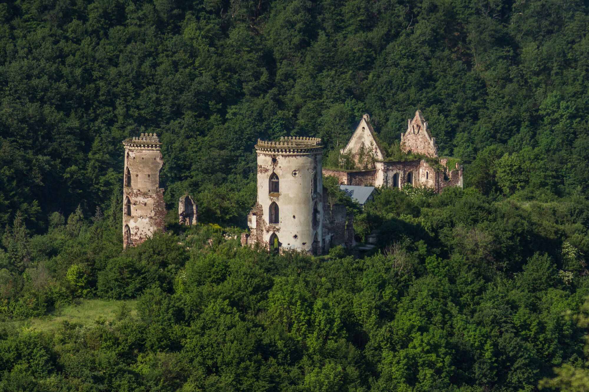 Дворец графа Ксидо был построен в начале 20 века
