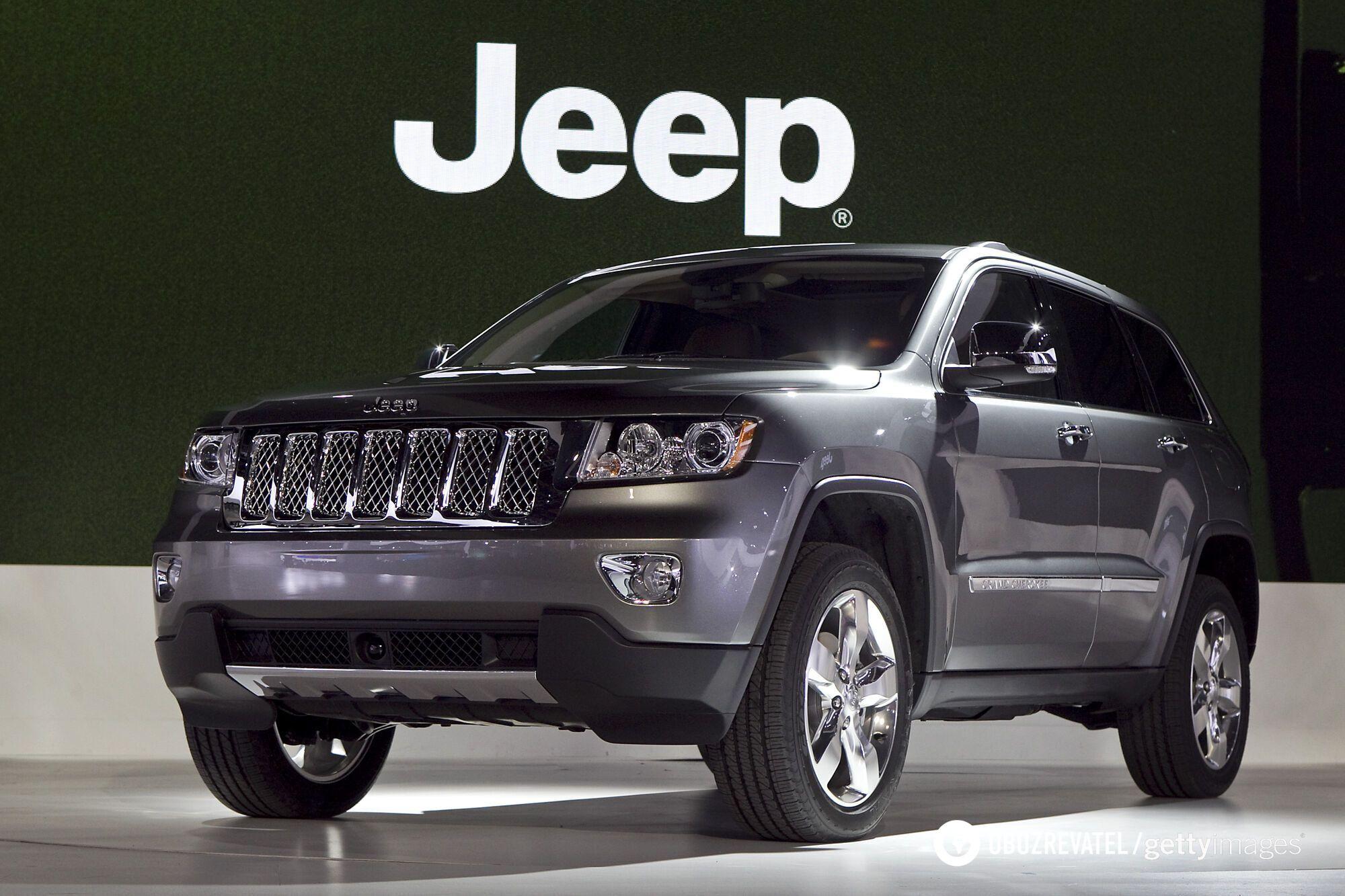 Jeep Grand Cherokee 2011 випуску