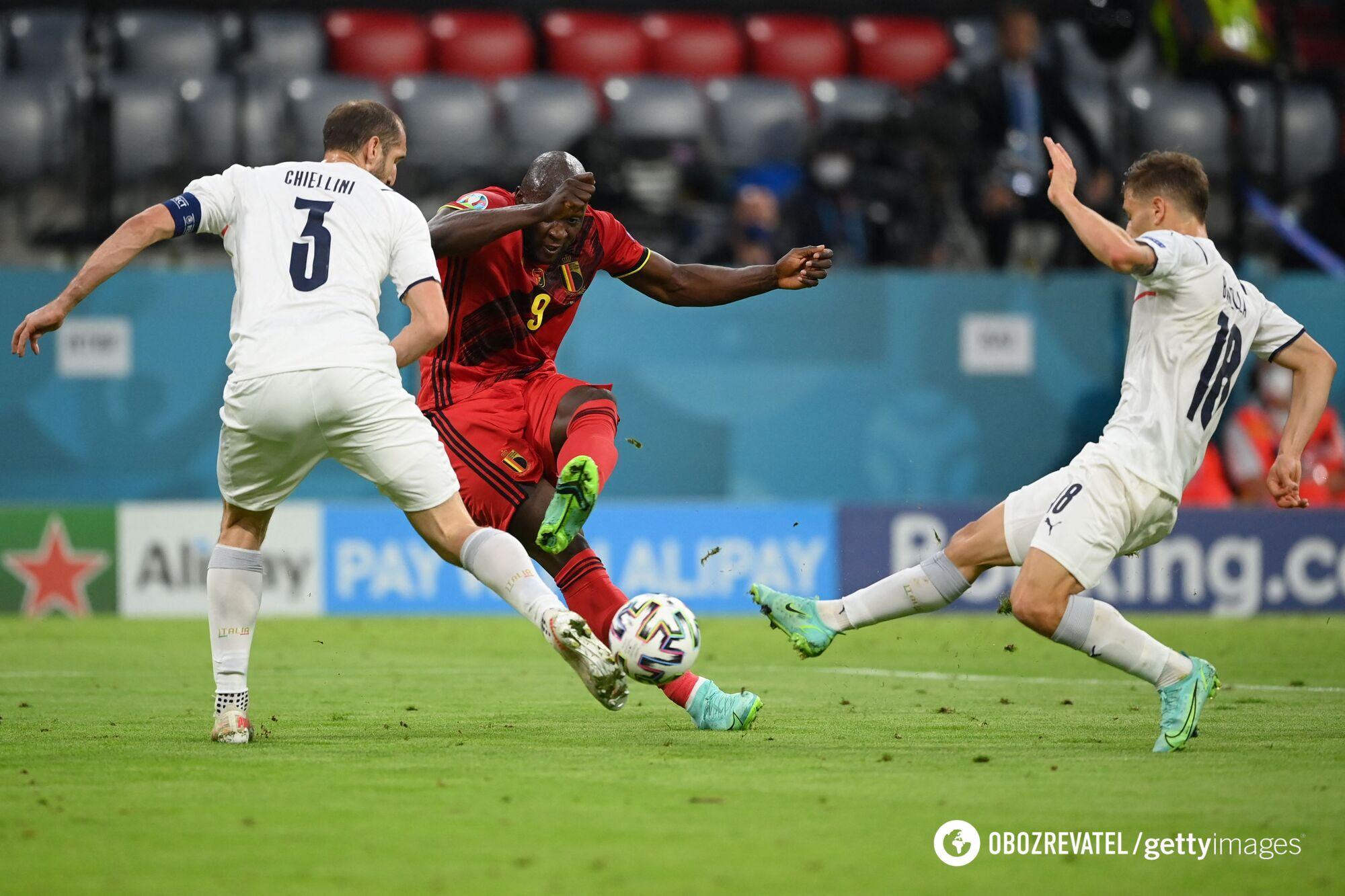 Ромелу Лукаку забив із пенальті.