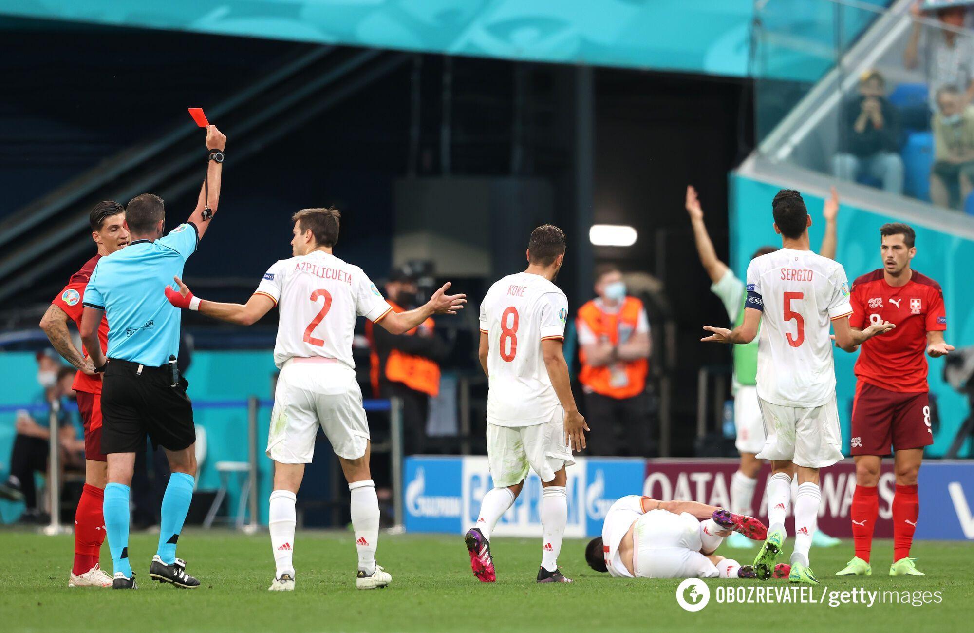 Испания обыграла Швейцарию.