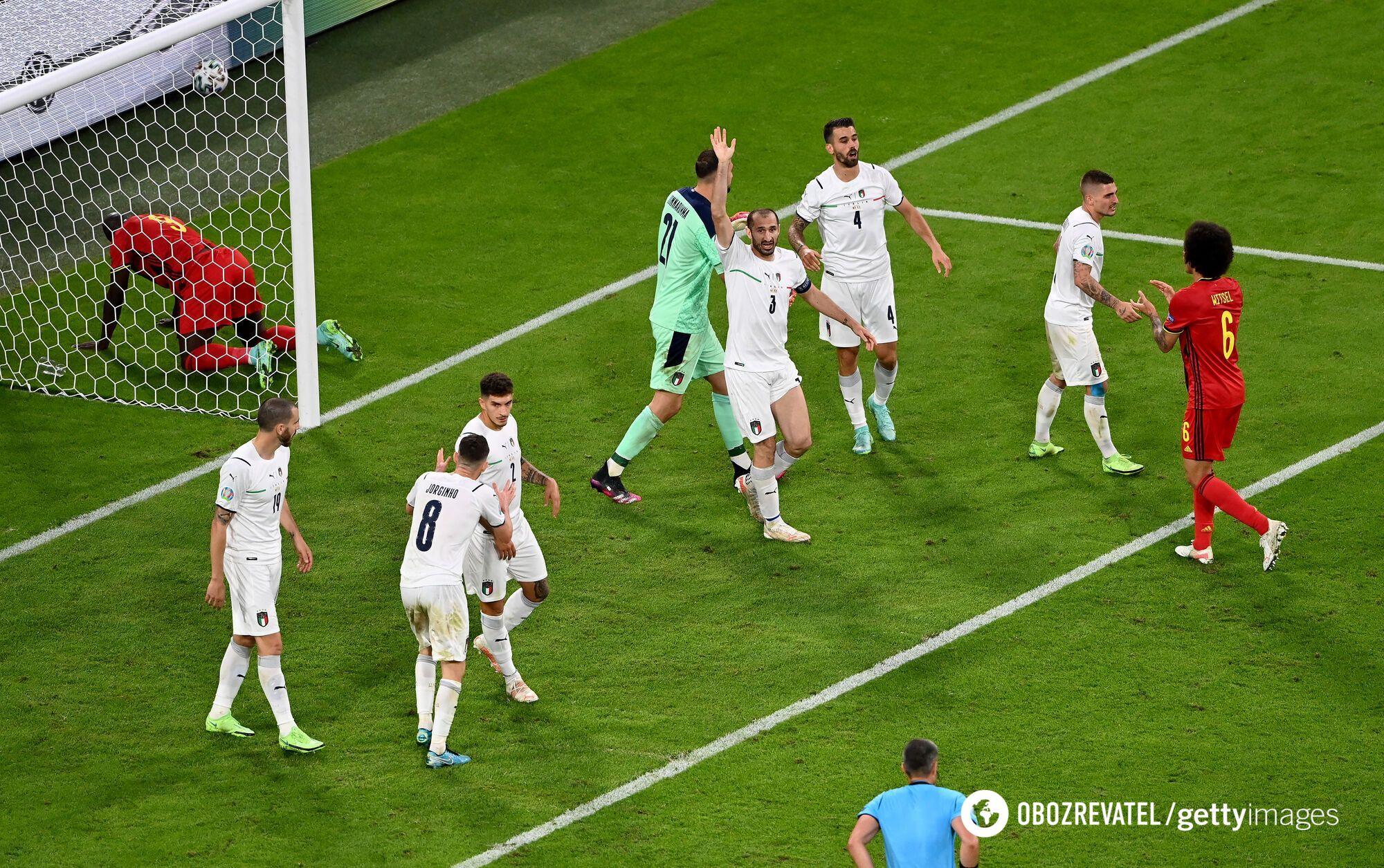 Бельгія не змогла забити у другому таймі.