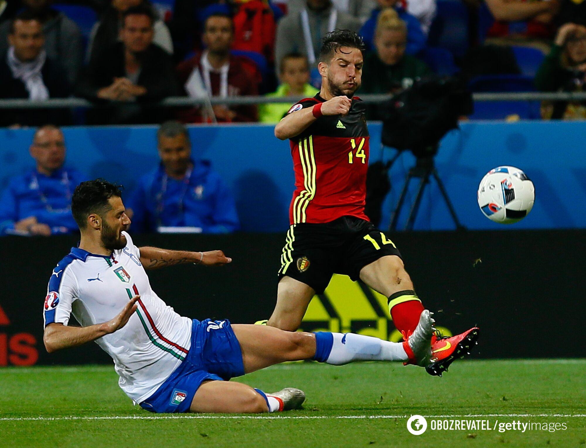 Італія обіграла Бельгію на старті Євро-2016
