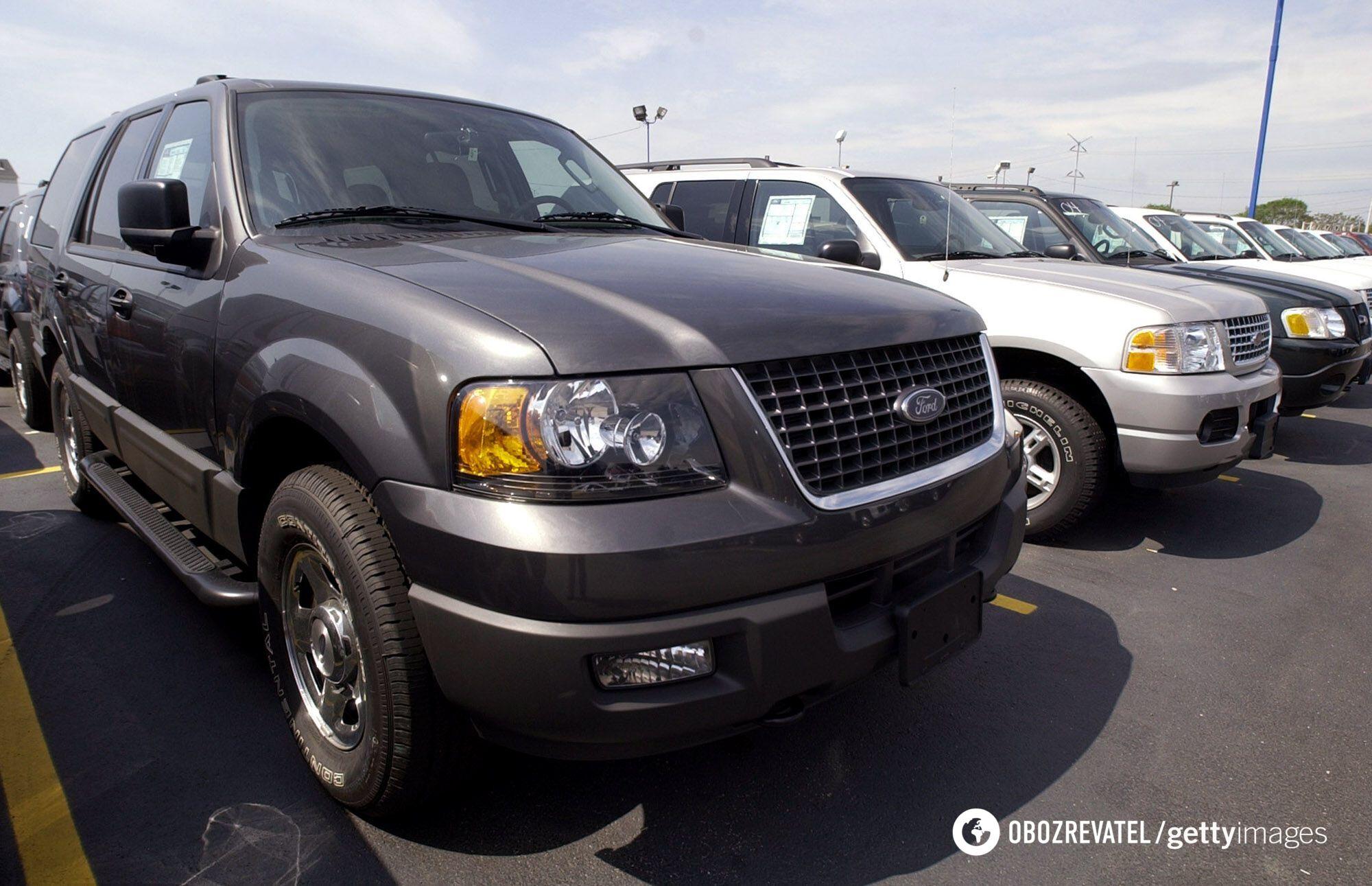 Ford Explorer 2004 року випуску