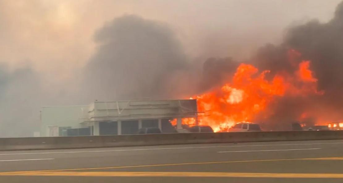 Пожар в Литтоне, Канада