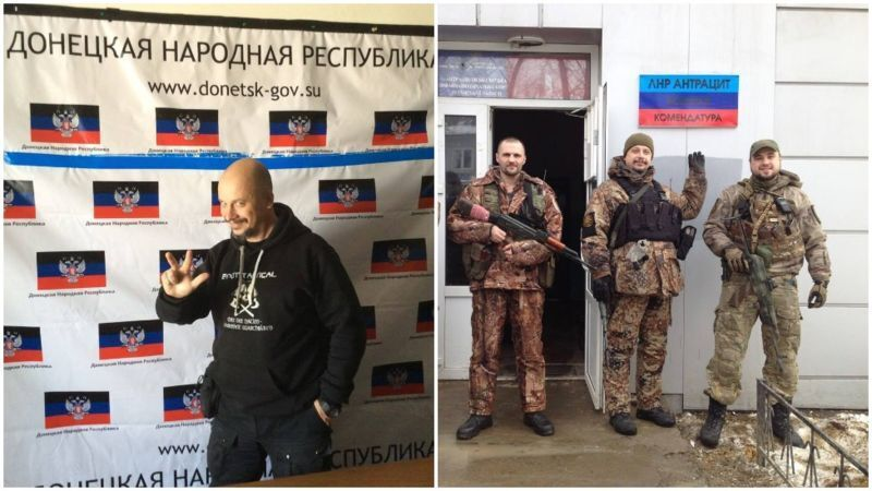 """Морозов в """"ЛНР"""" и """"ДНР""""."""