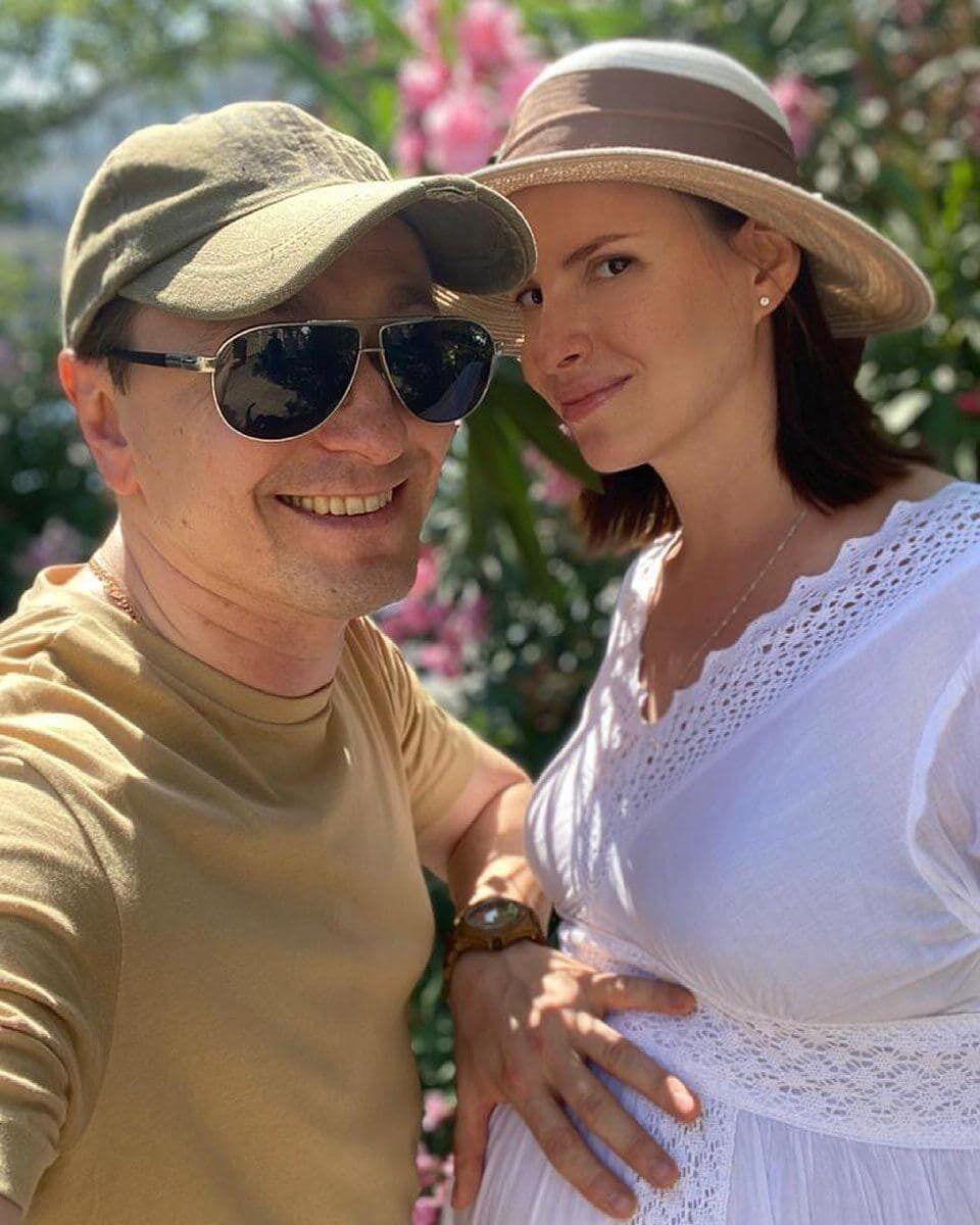 Сергей Безруков и его супруга Анна Матисон ждут пополнение