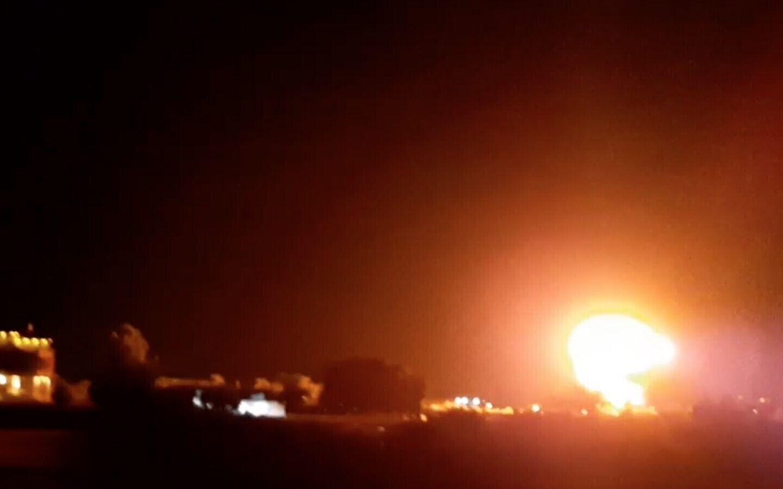 Израиль нанес удар по сектору Газа.