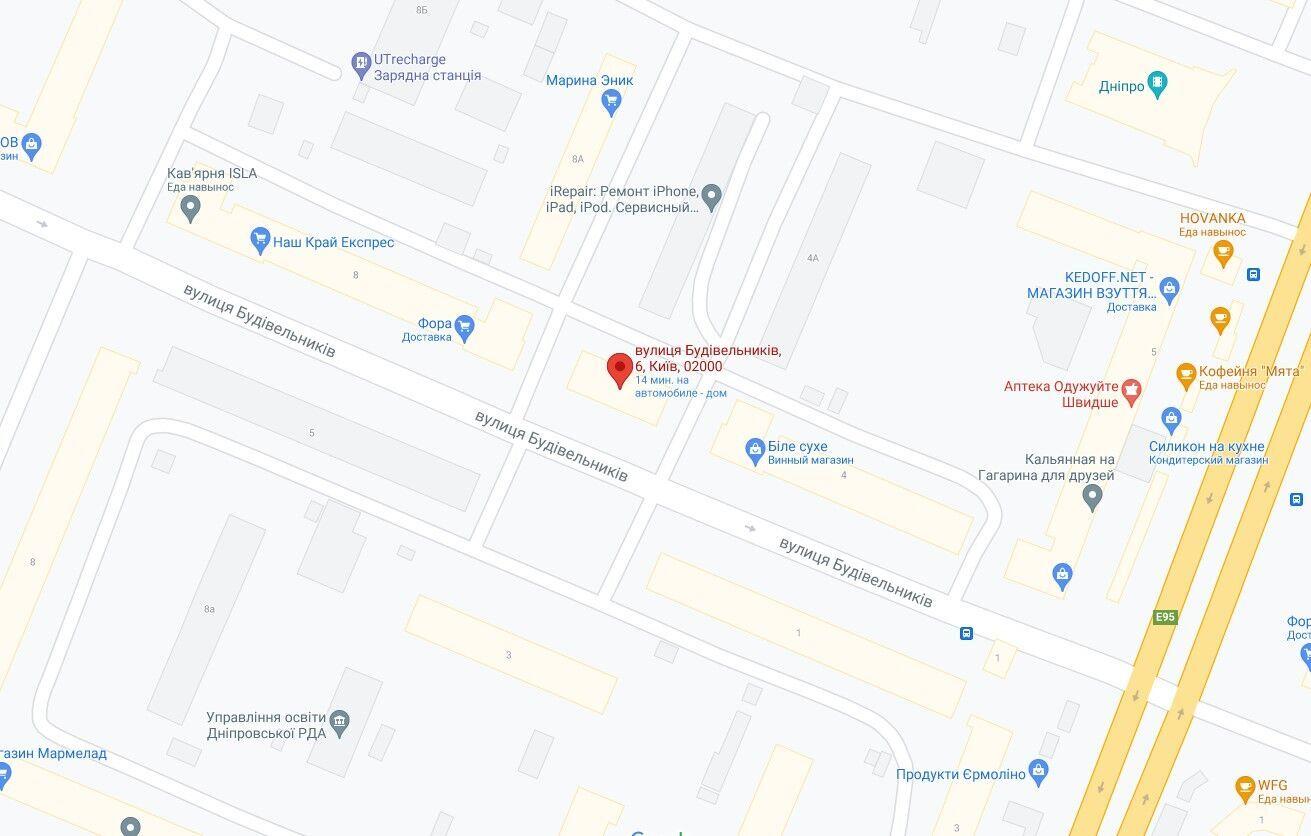 Аварія сталася в Дніпровському районі Києва.