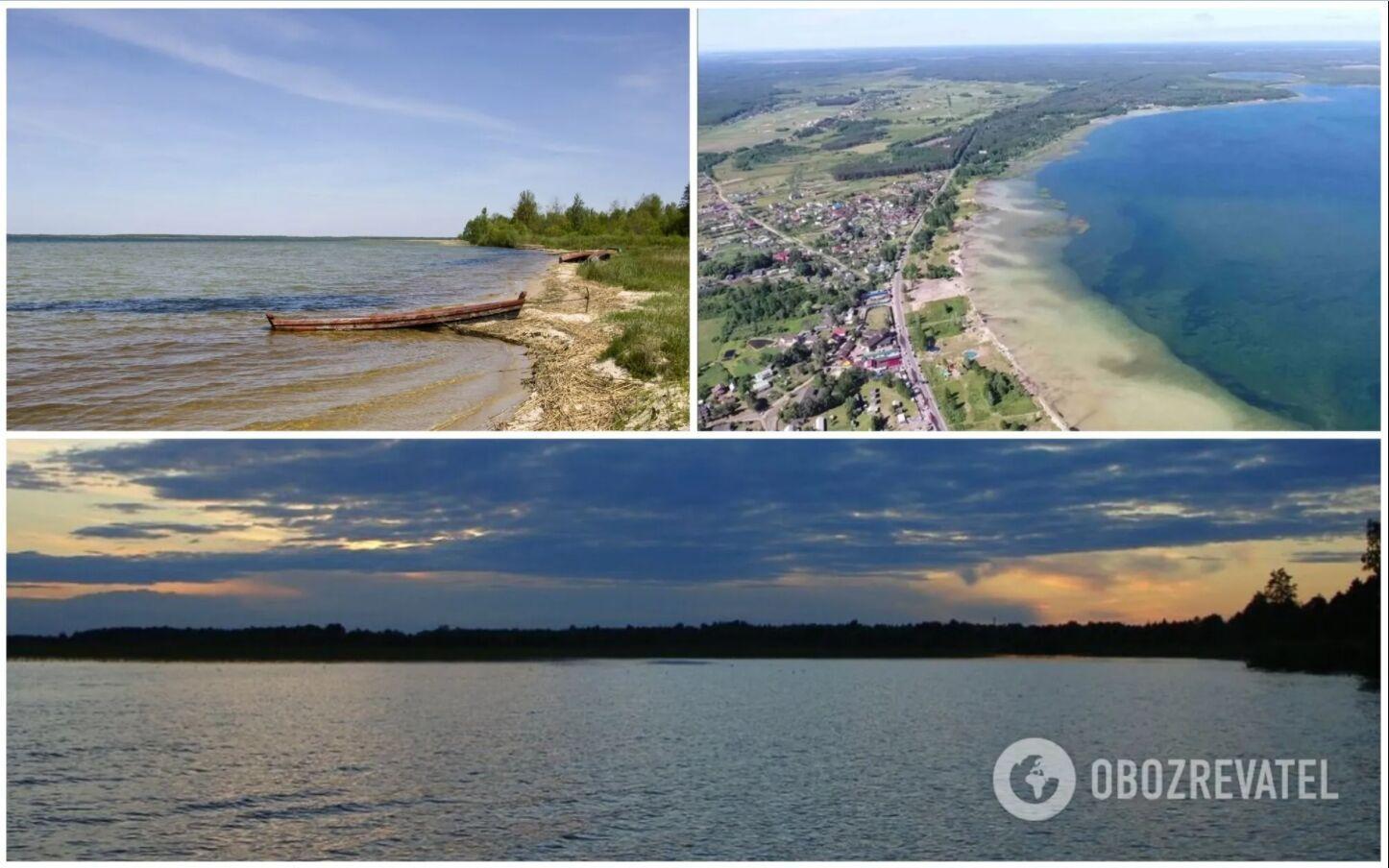 Озеро Свитязь считается самым глубоким в Украине