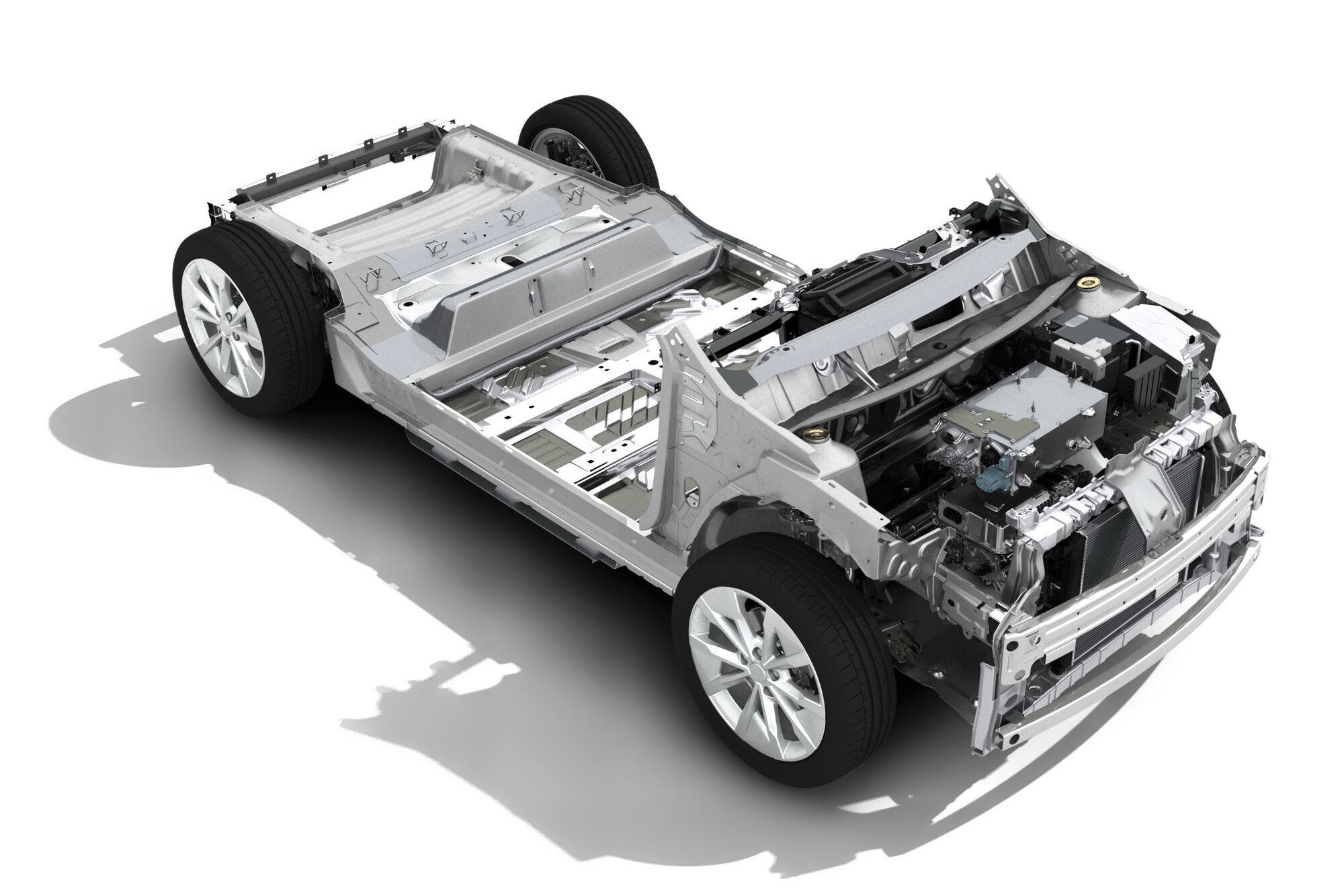 Компактная платформа CMF-B EV