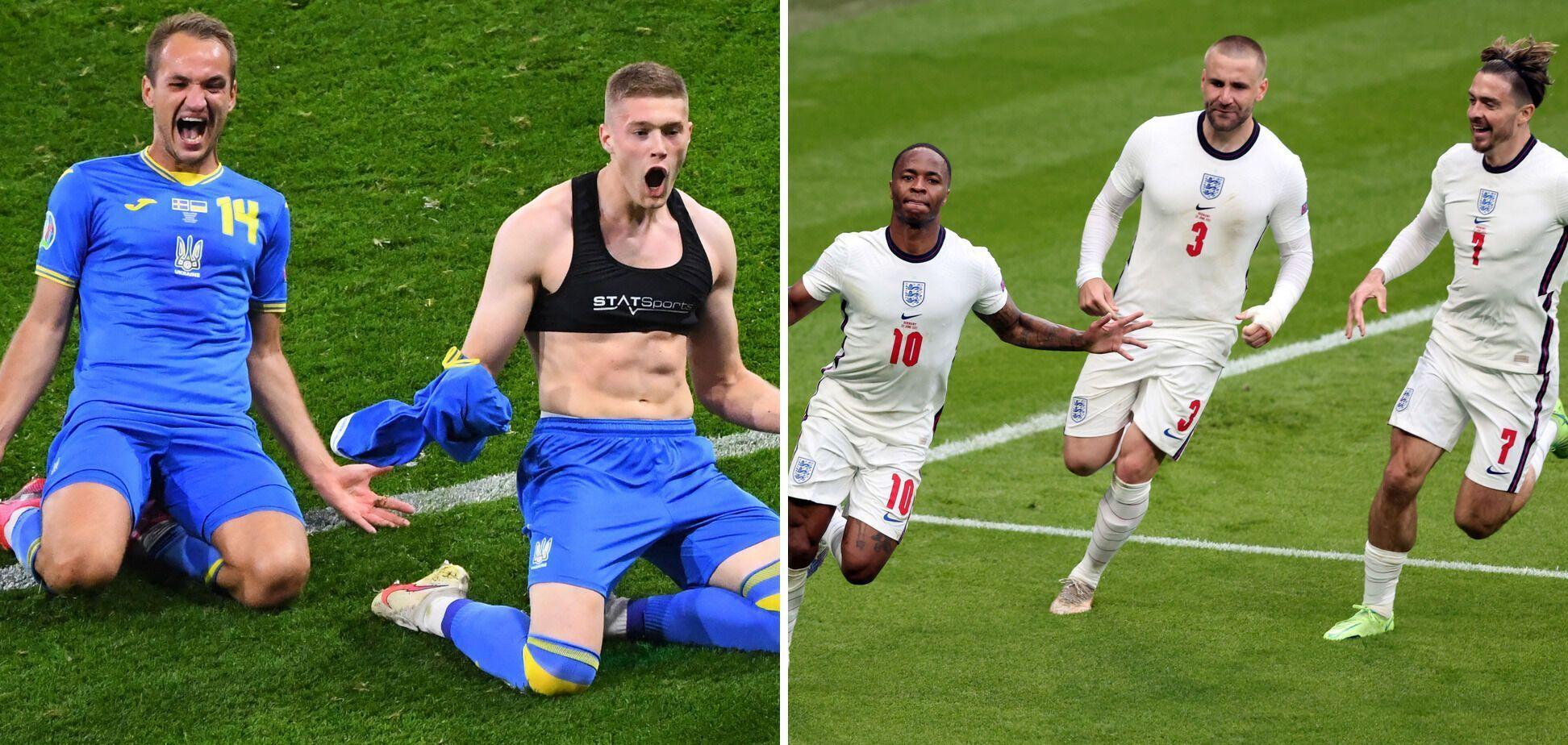 Украина Англия прогноз на матч Евро 2020