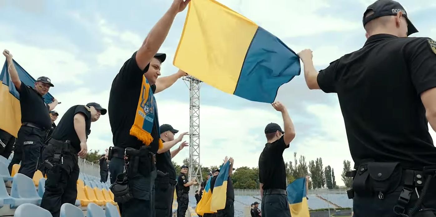 Клип снят на Центральном городском стадионе Николаева