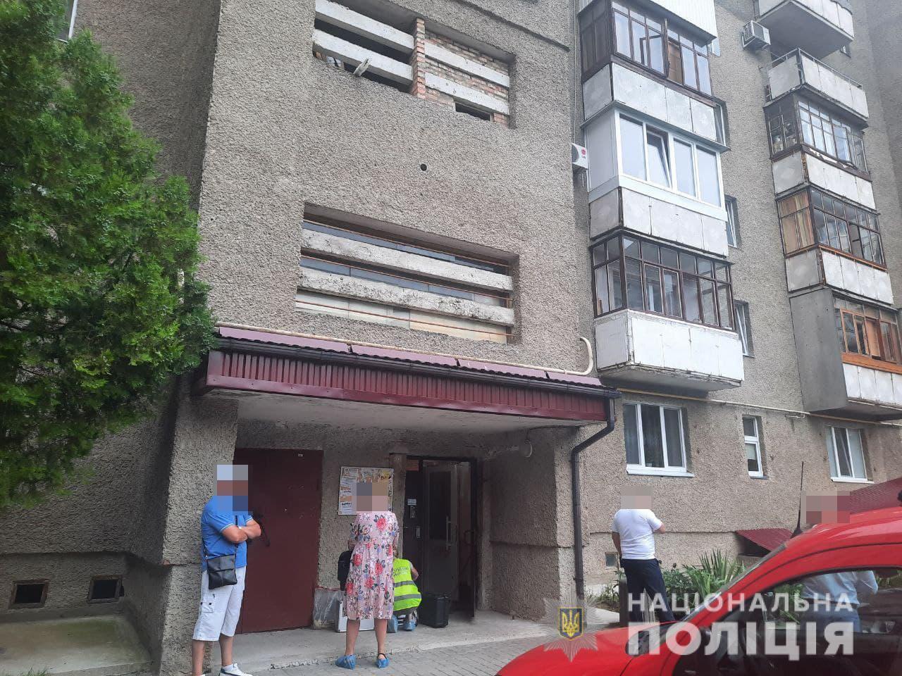 Преступление произошло в ночь на 20 июля в многоэтажке Луцка