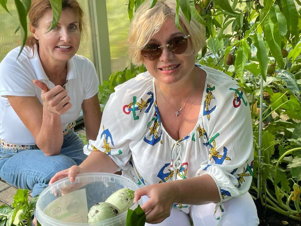 Марина Порошенко и Ирина Геращенко