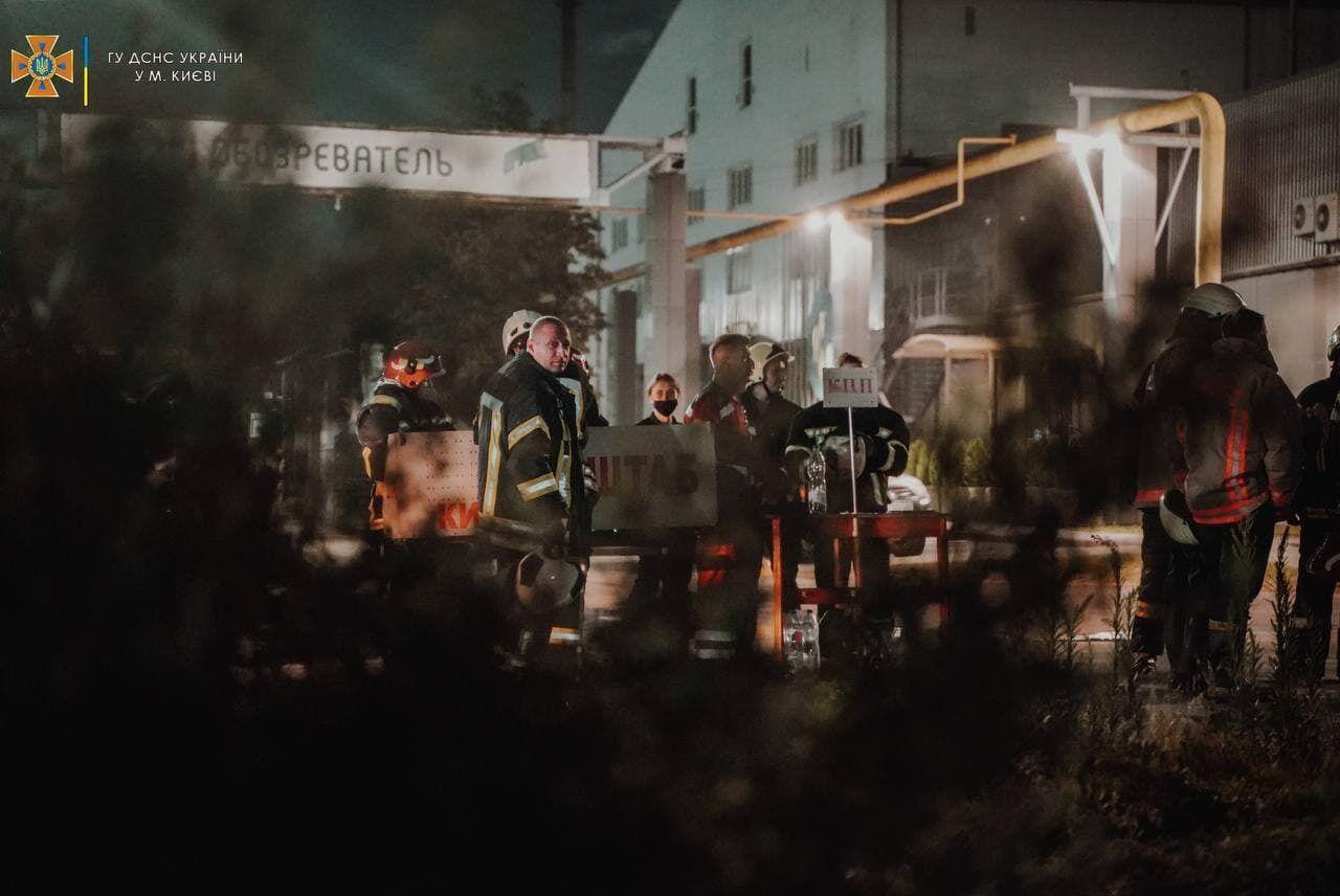 Происшествие произошло в Голосеевском районе Киева.