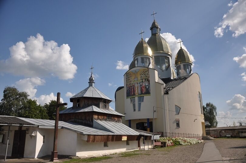 Храм Всех Святых Украинского Народа на улице Выговского в г. Стрый.
