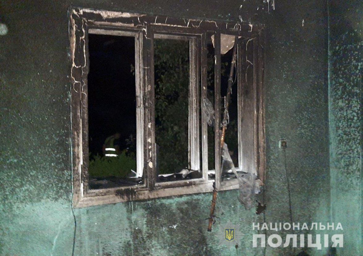Будинок сильно вигорів після пожежі.