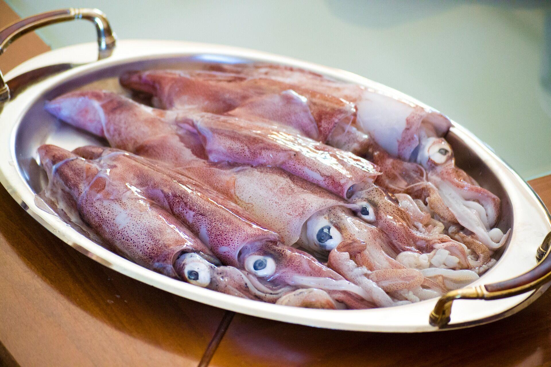 З кальмара можна зробити дуже смачний фарш