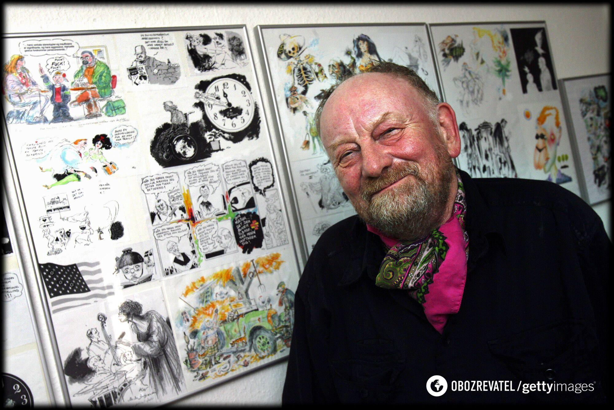 Карикатурист Курт Вестергаард