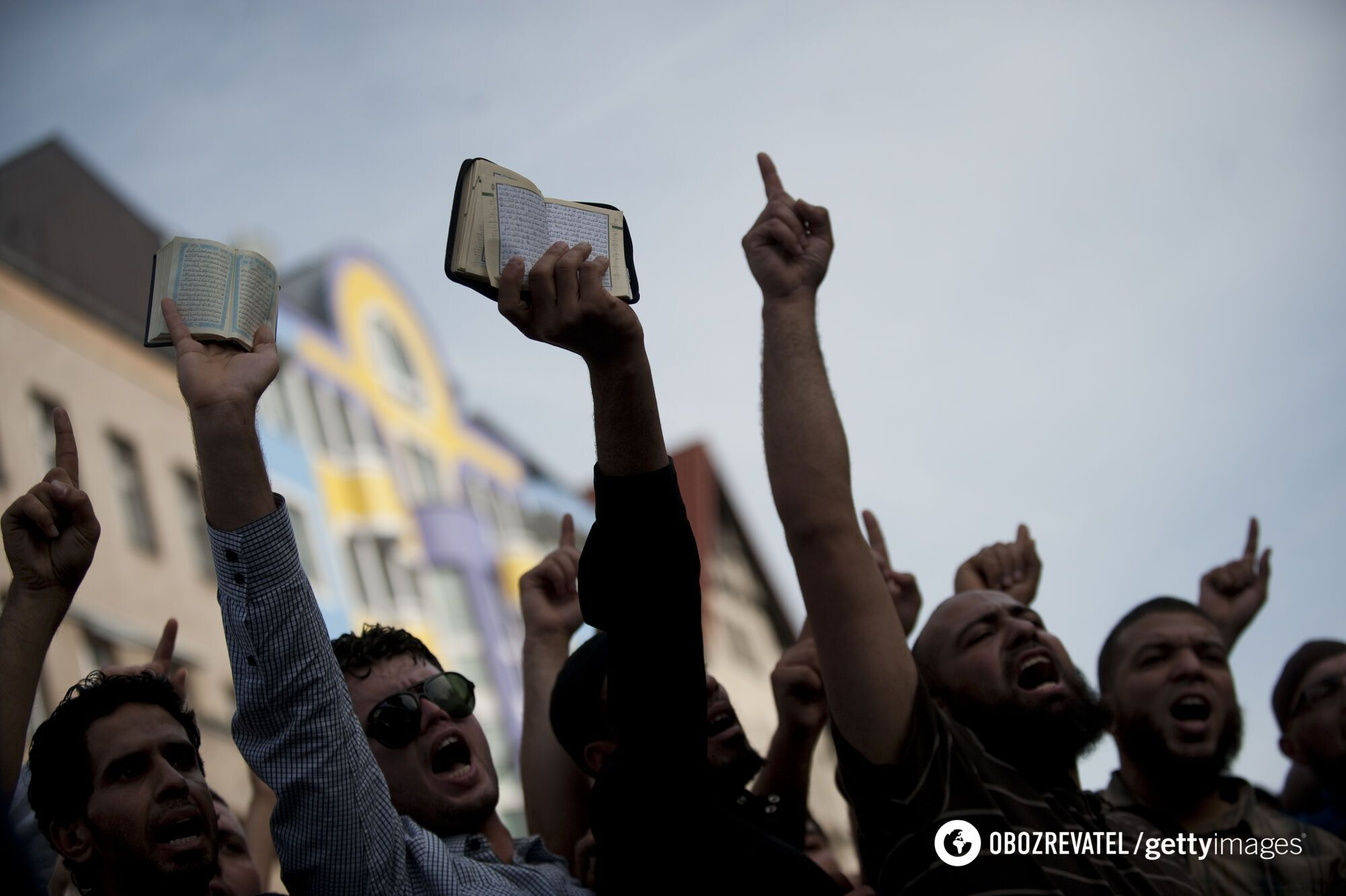 Протесты мусульман в 2012 году