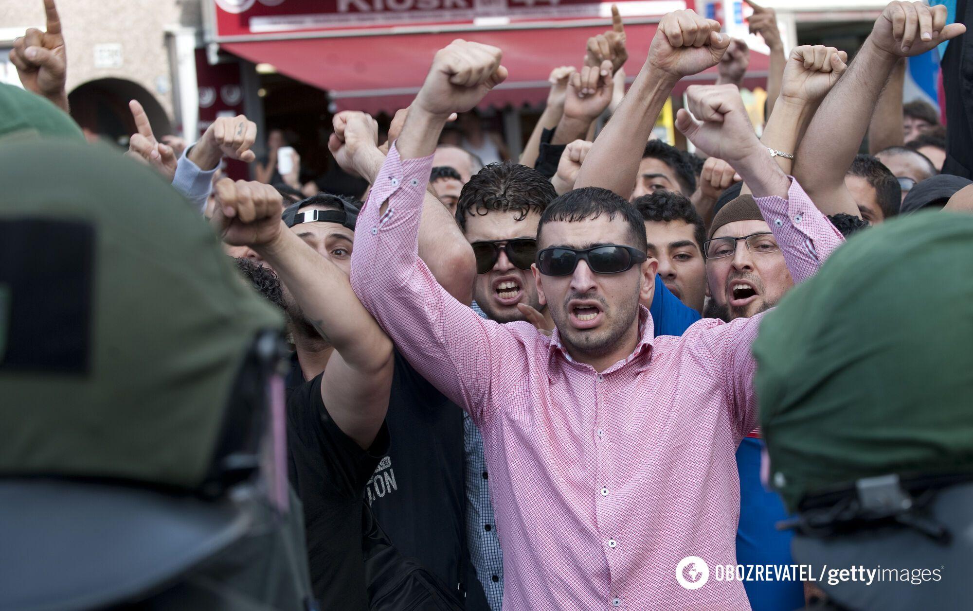 Протесты мусульман