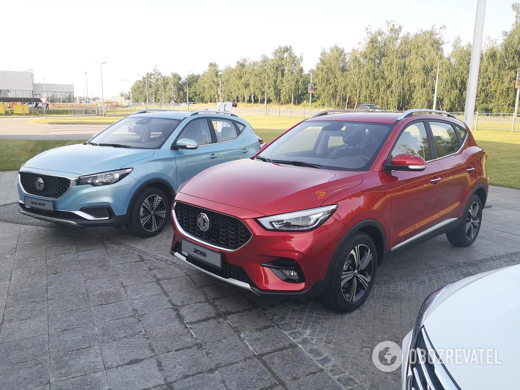 MG ZS будет предлагается в Украине с бензиновым 1,5-литровым мотором мощностью 115 л.с. и 1,3-литровым турбированным двигателем мощностью 156 сил