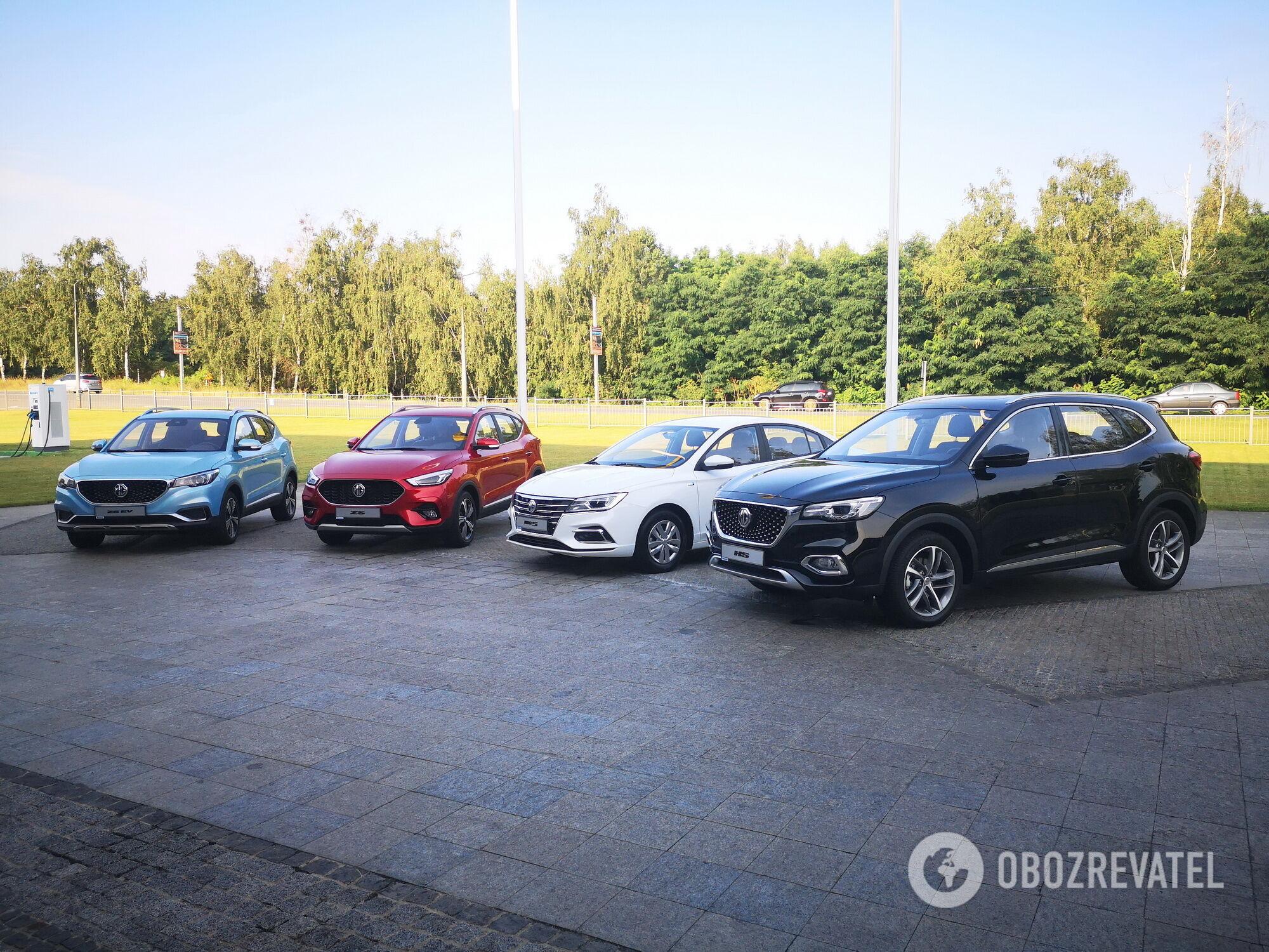 На сегодняшний день в Украину уже прибыли 4 из 5 моделей, которые будут предложены отечественным покупателям
