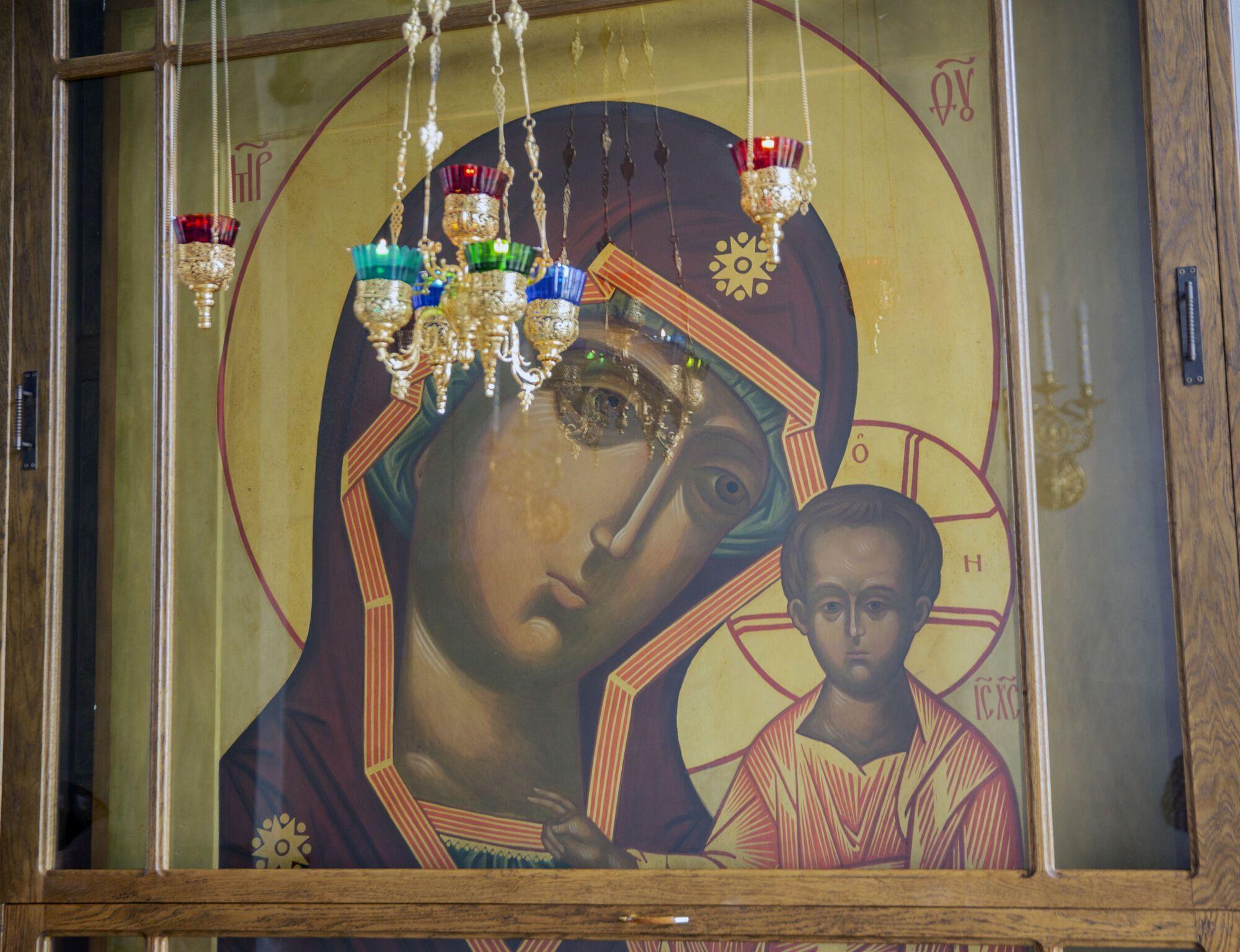 21 июля совершается празднование в память о явлении Казанской иконы Божьей Матери