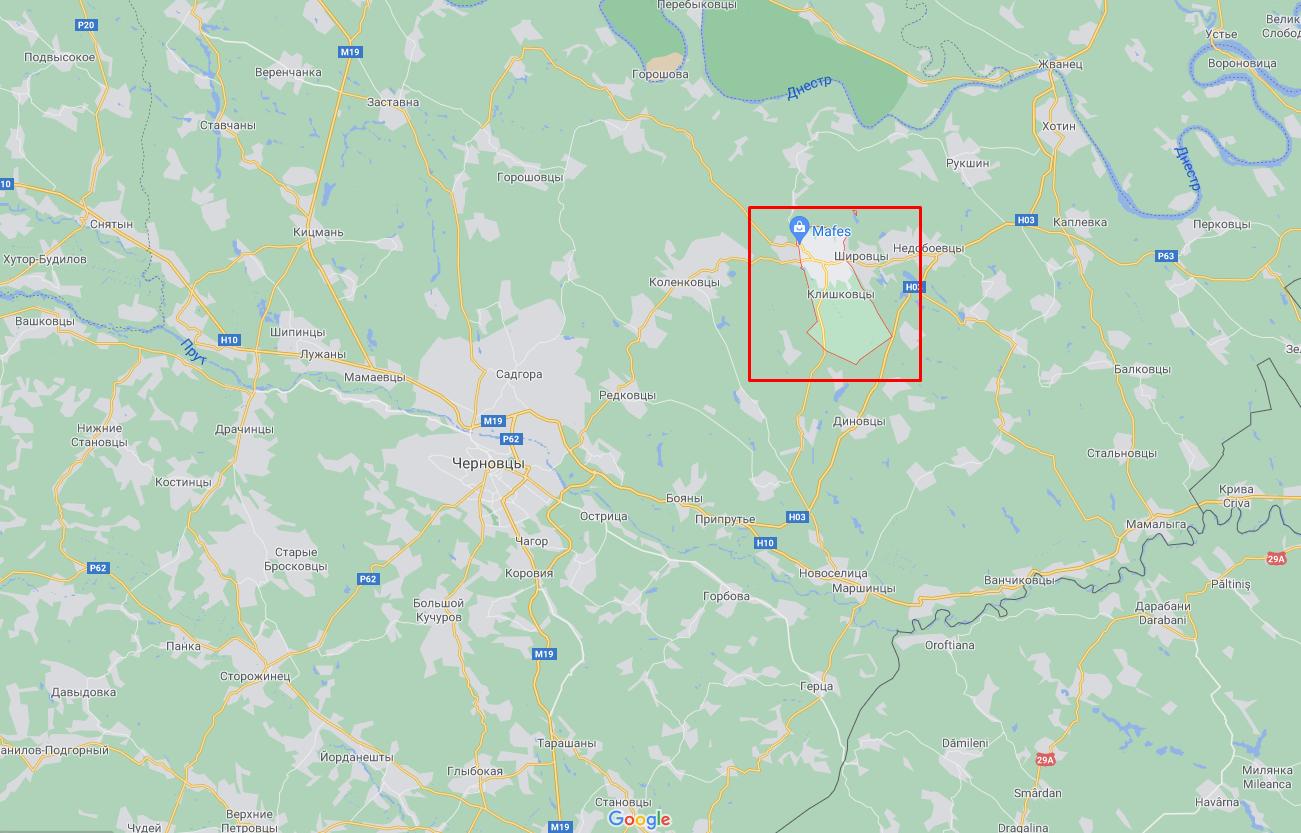 Інцидент стався в селі Клішківці.