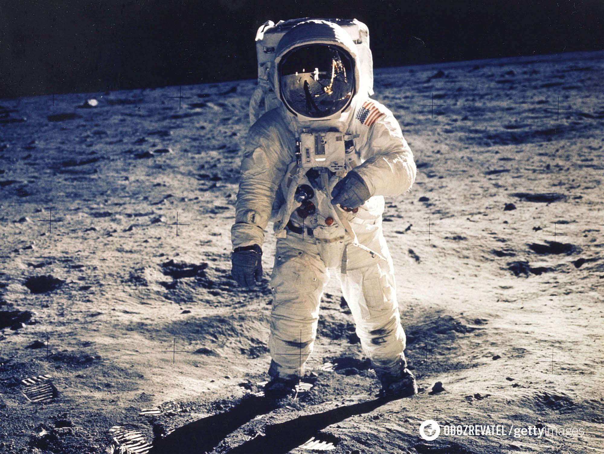 Перша висадка людини на Місяць відбулася 20 липня 1969 року