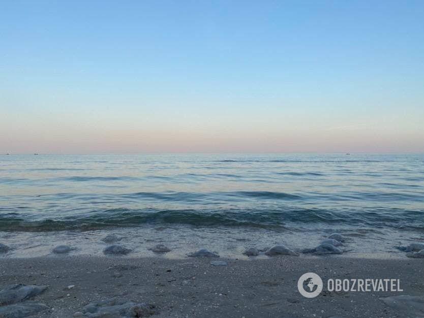 Море в Кирилівці влітку 2021.