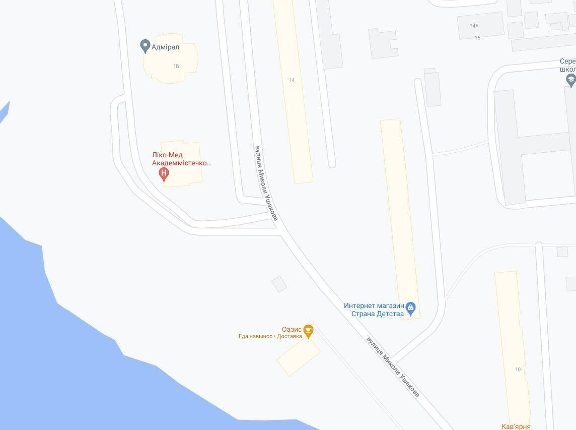 Инцидент произошел в Святошинском районе.