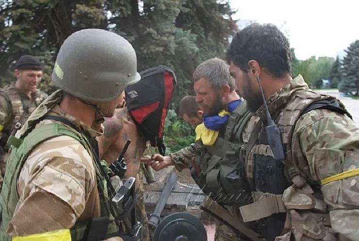 Воїни ЗСУ в Торецьку