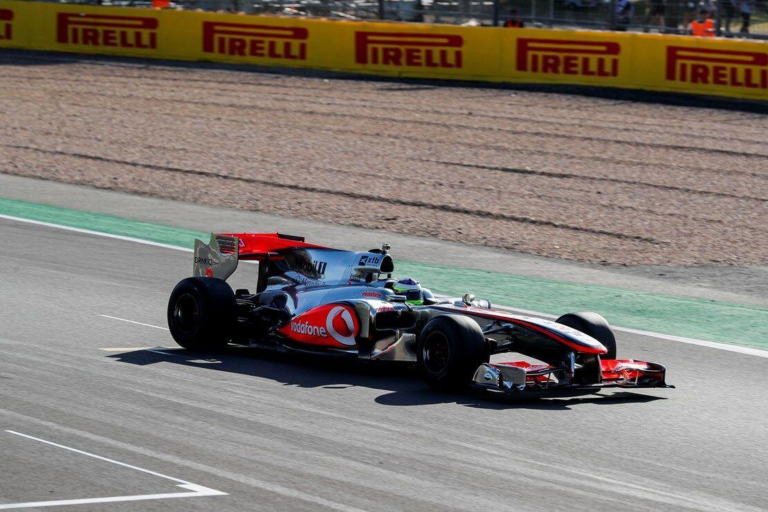 На этом McLaren MP4-25A Льюис Хэмилтон одержал победу в Гран При Турции в 2010 году