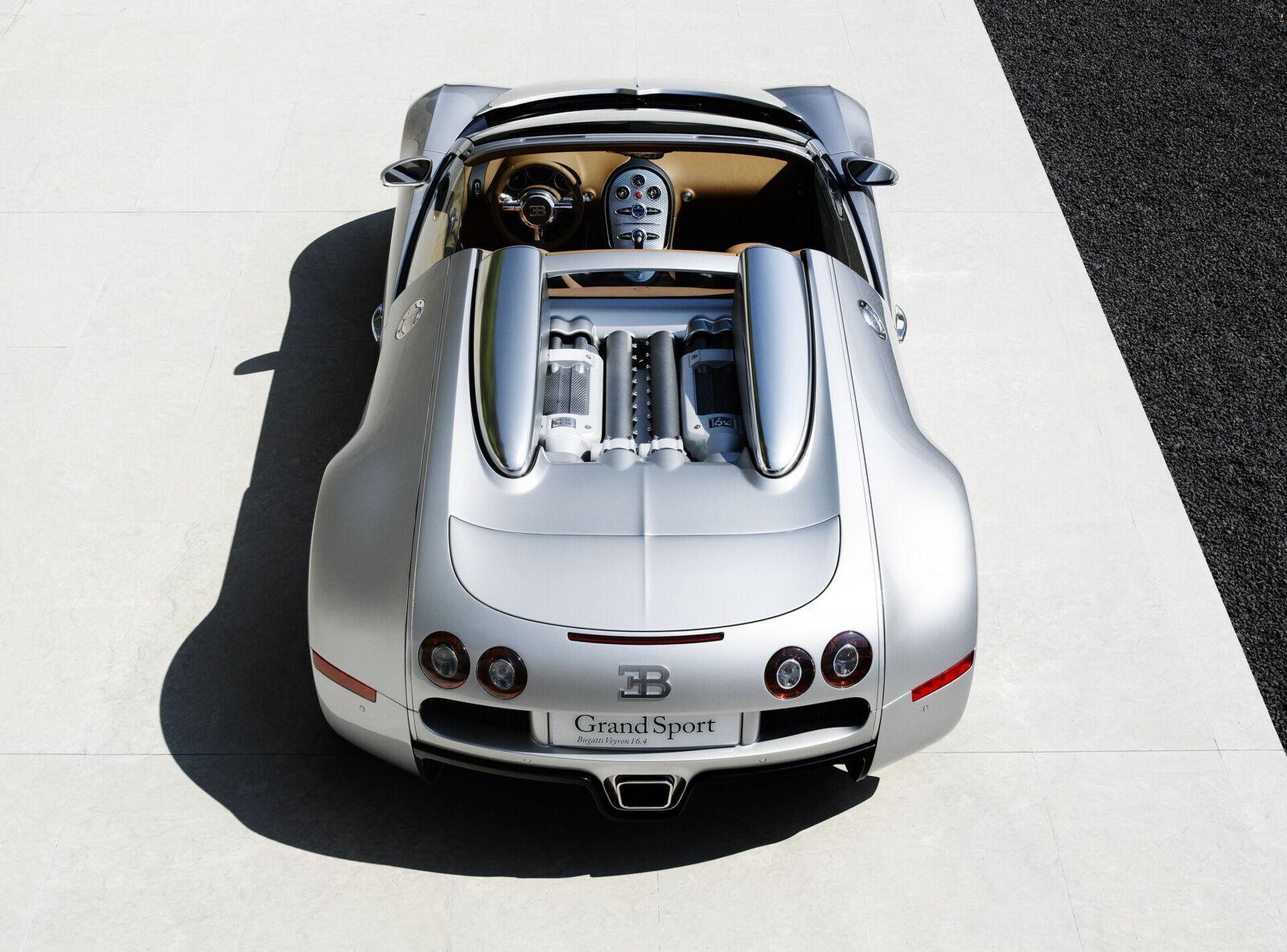 Дебют Veyron 16.4 Grand Sport відбувся у Каліфорнії у 2008 році