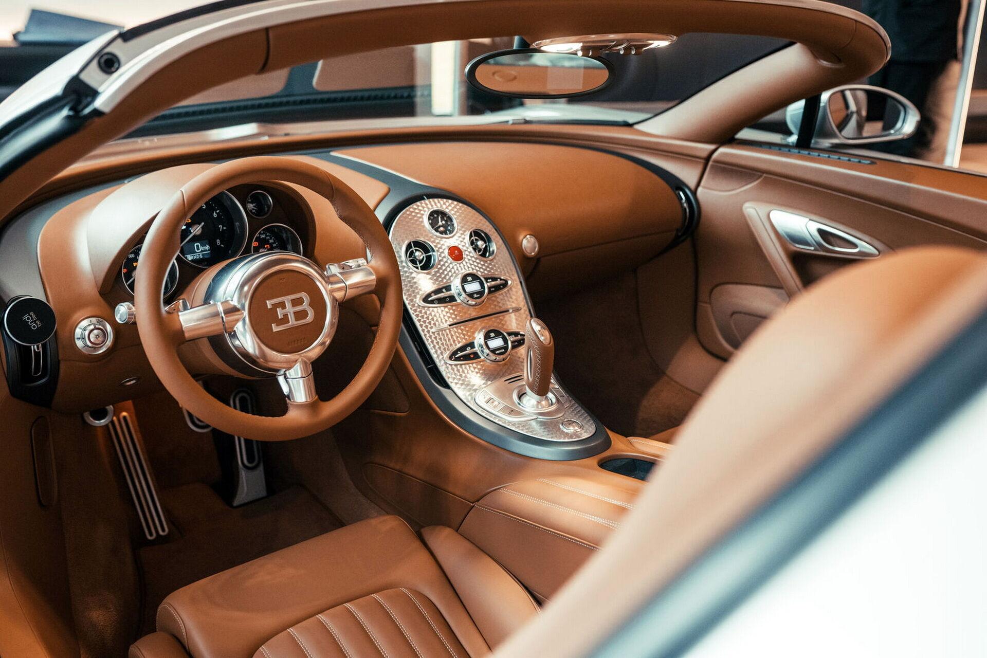 Салон прототипу Veyron 16.4 Grand Sport