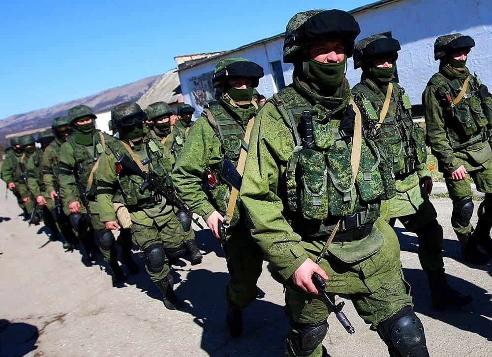 Спецпідрозділи ВС РФ.