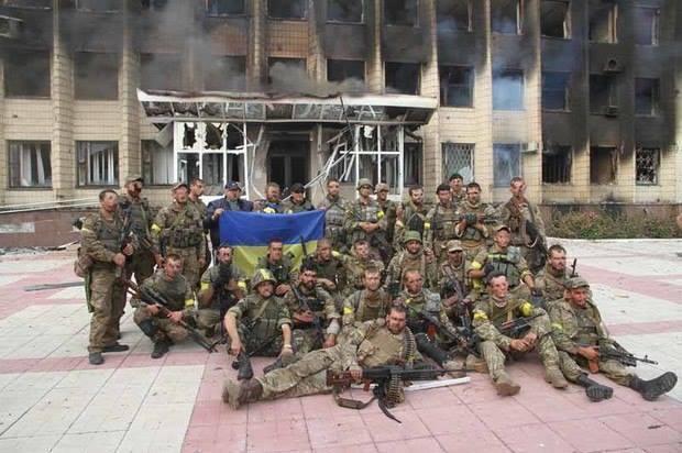 Воїни ЗСУ звільнили Торецьк