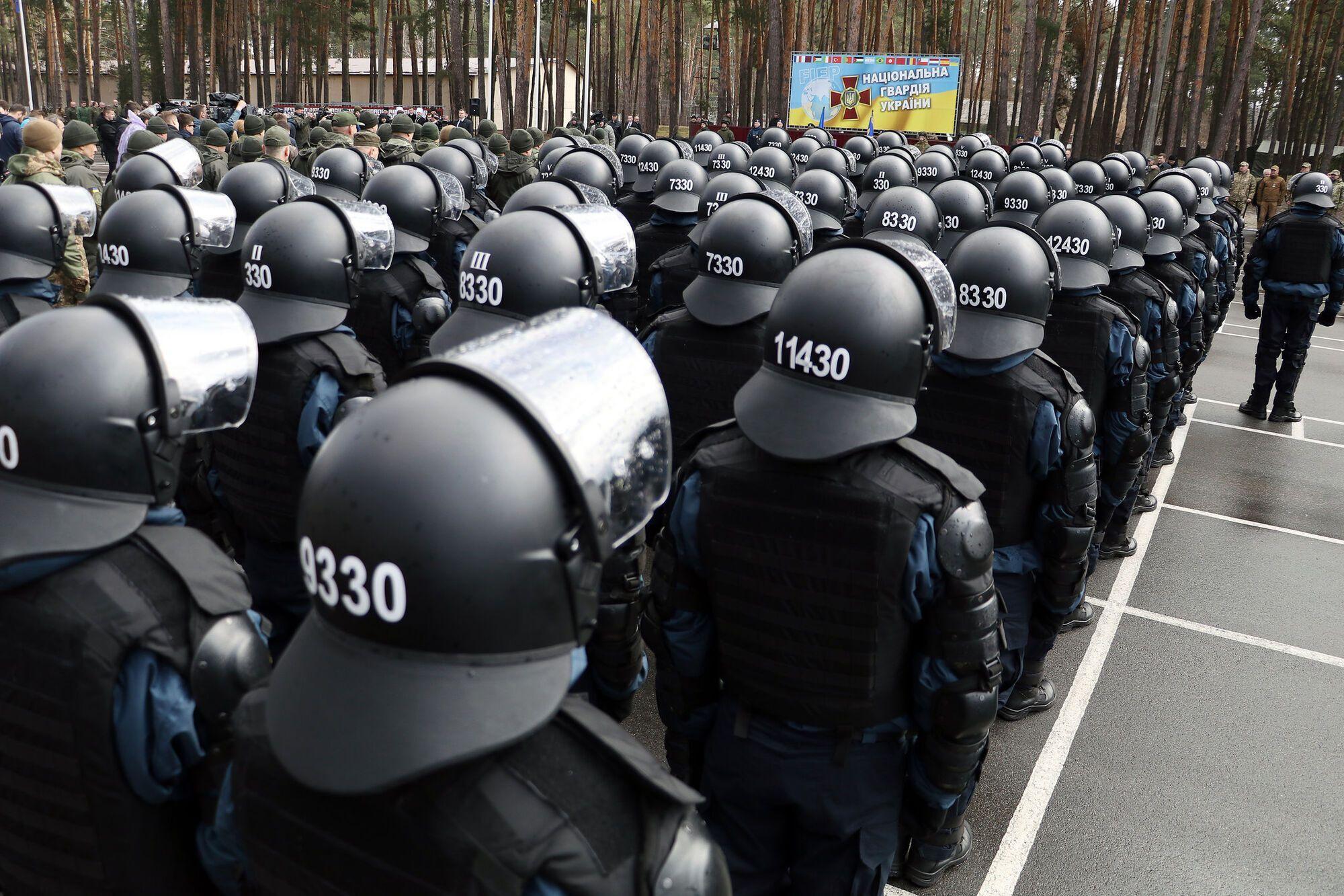 За законом максимальна чисельність НГУ – 60 тисяч осіб