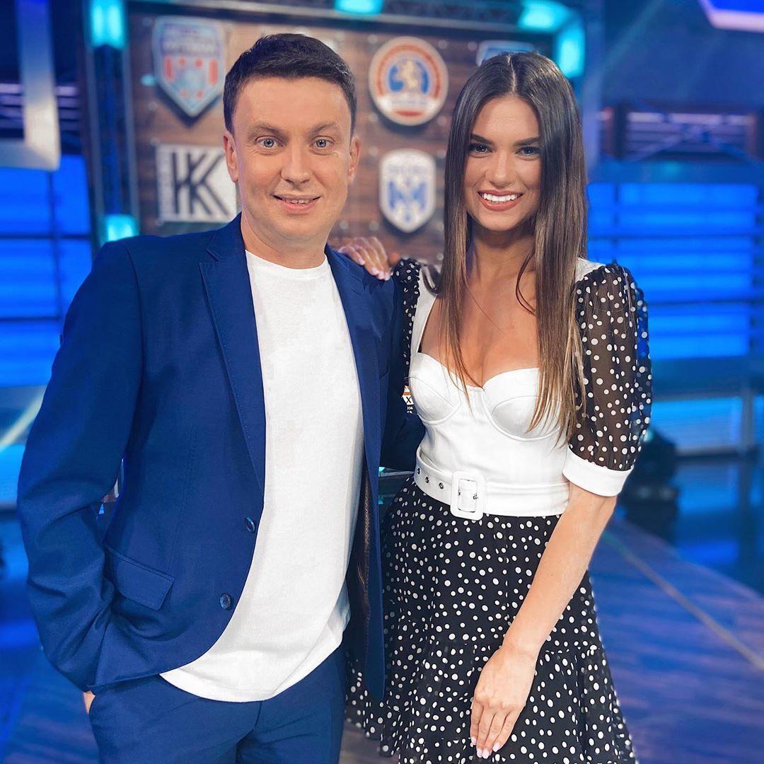 Игорь Цыганык и Александра Лобода.
