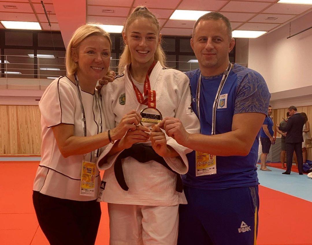 Белодед – двукратная чемпионка мира.