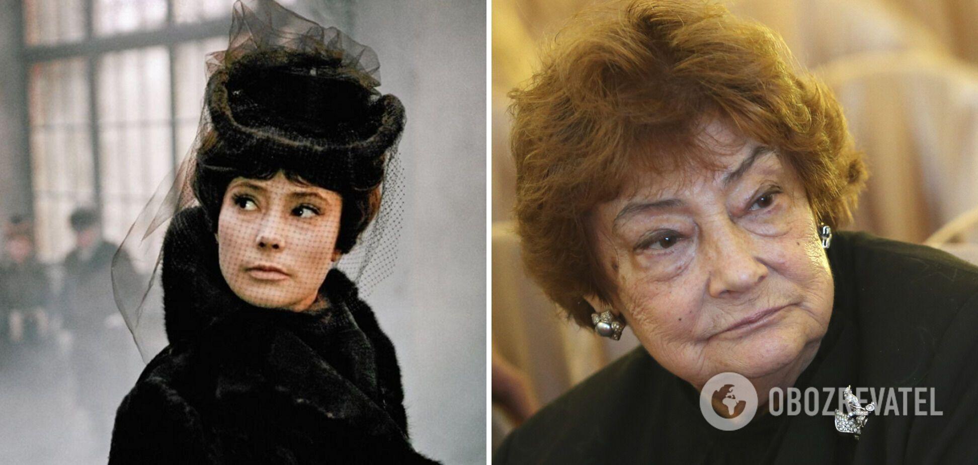 Татьяна Самойлова умерла в возрасте 80 лет