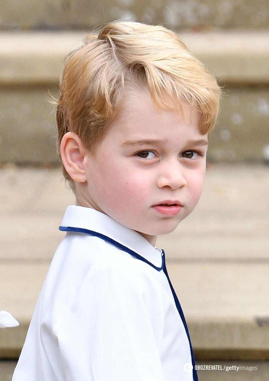 Принц Джордж отмечает день рождения.