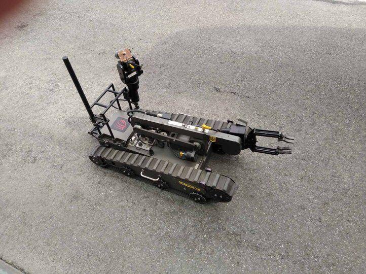 К спецоперации привлекали дистанционно управляемого робота