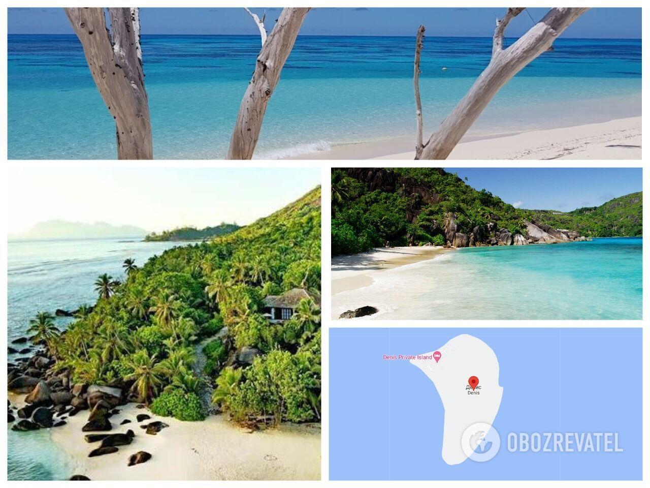 Уединенный остров Дениз на Сейшелах