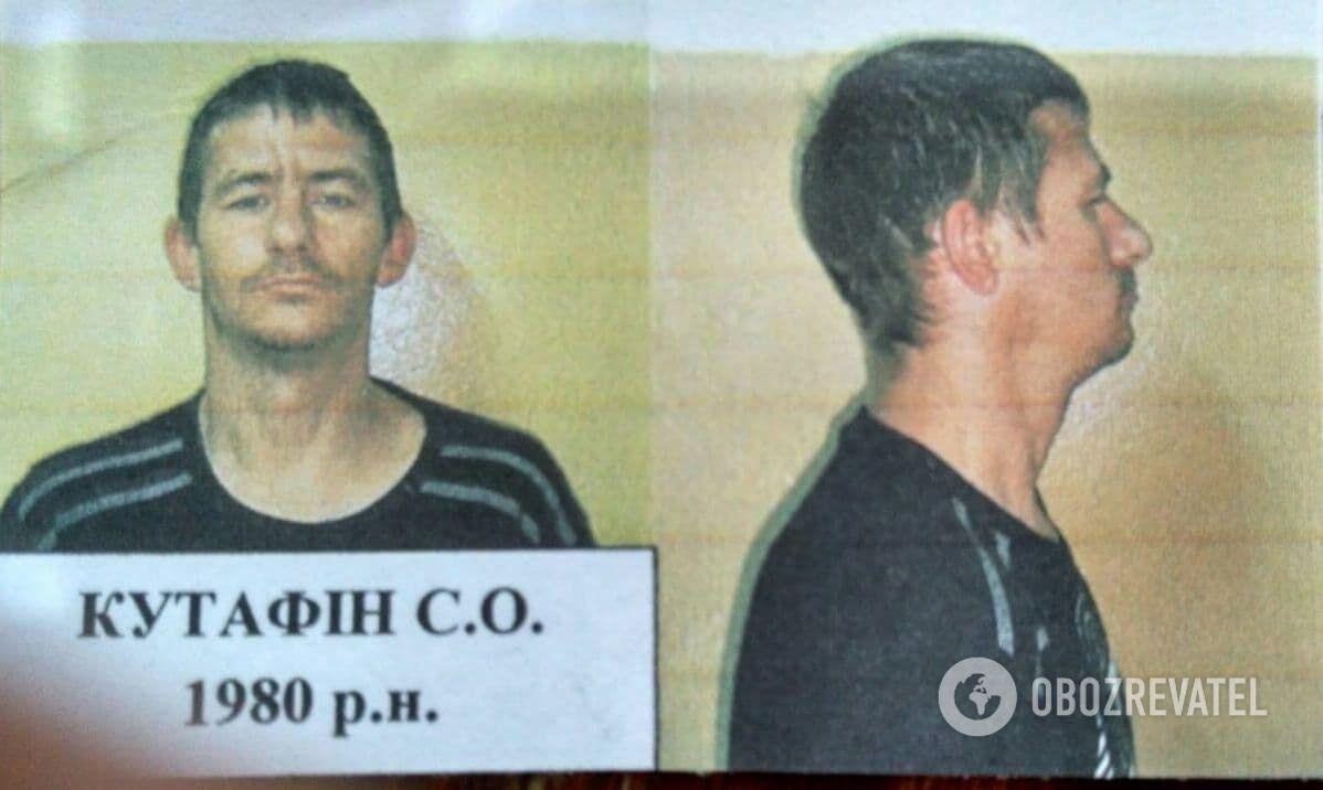 Сергій Кутафін утік із СІЗО, але був затриманий того ж дня