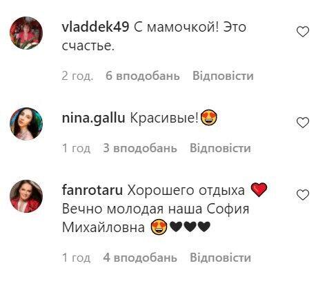 Коментарі фанатів.