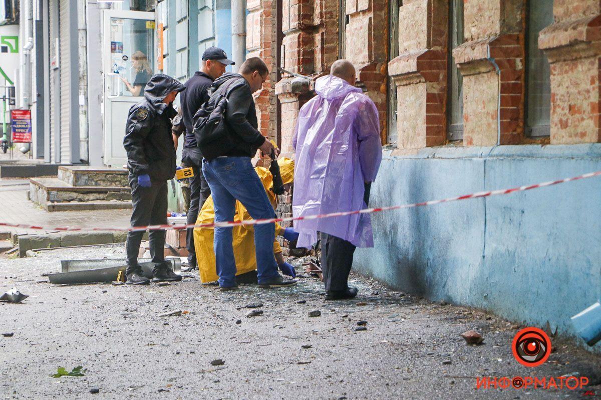 В здании прогремел взрыв
