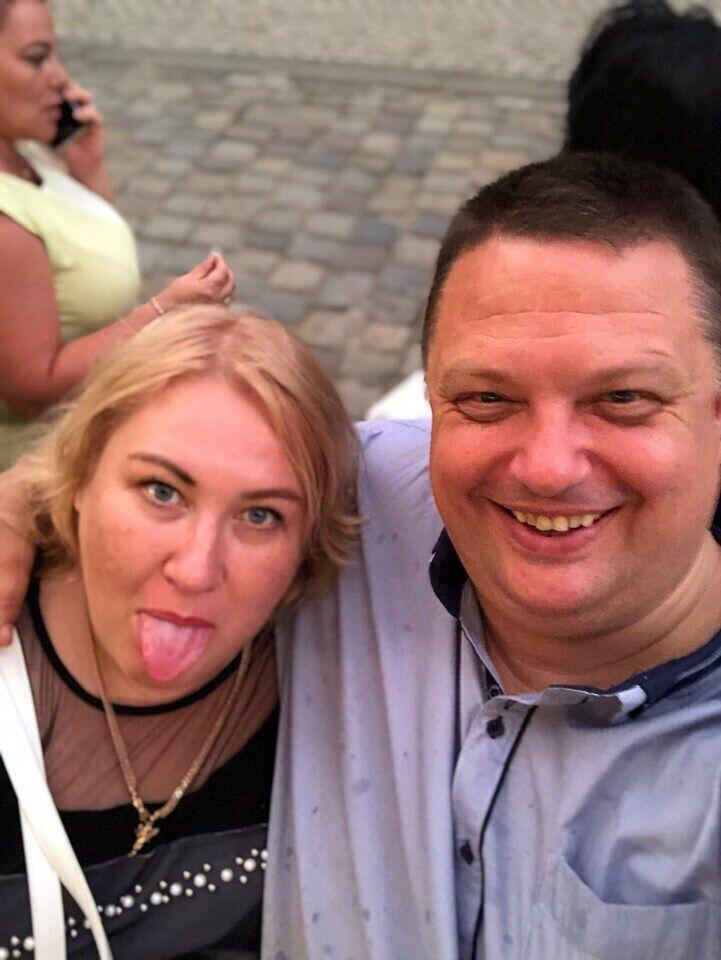 Катерина Бояр із чоловіком Миколою