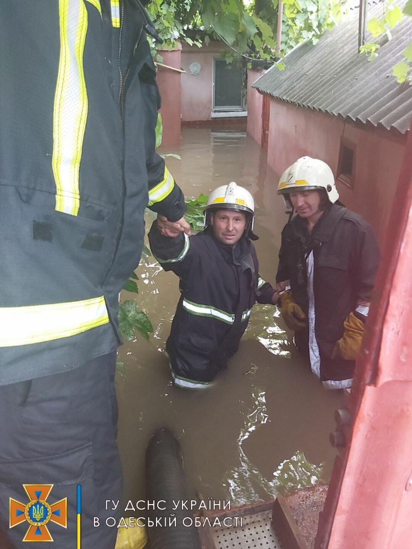 Спасатели в Одессе
